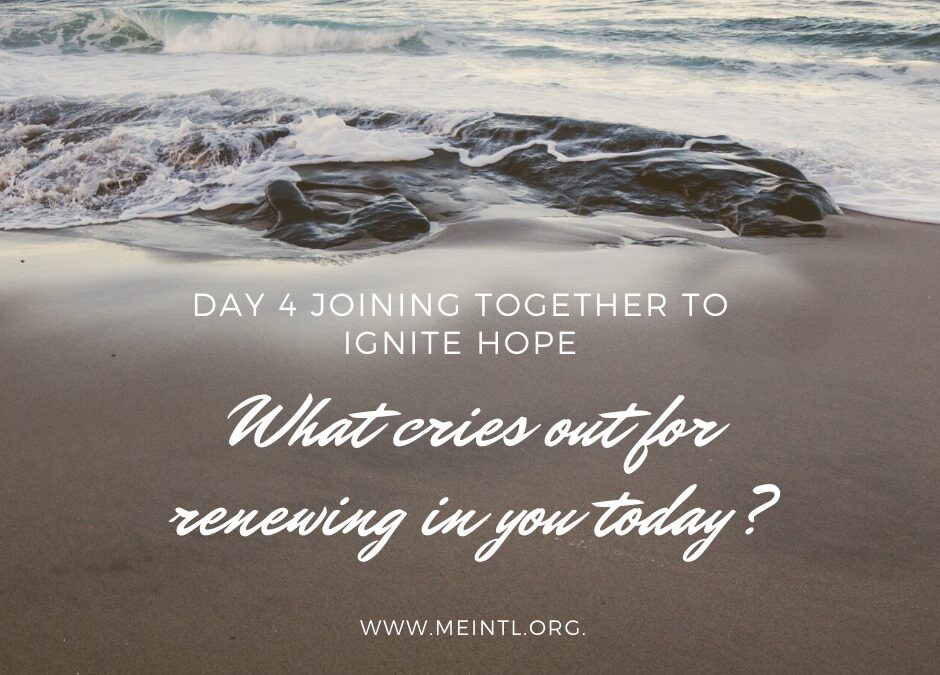 Joining Together – Day 4 – Renew